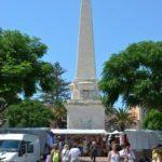 Obelisk am Rathausplatz von Ciutadella