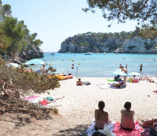 Einer der schönsten Strände Menorcas: Cala Macarella
