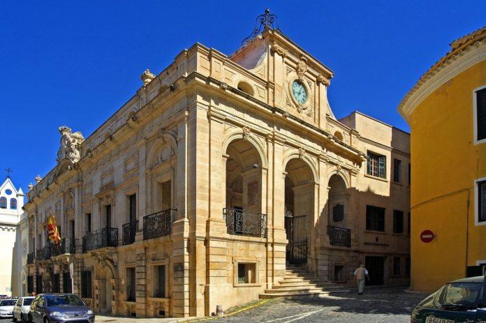 Historisches Gebäude in Mahon, Menorca