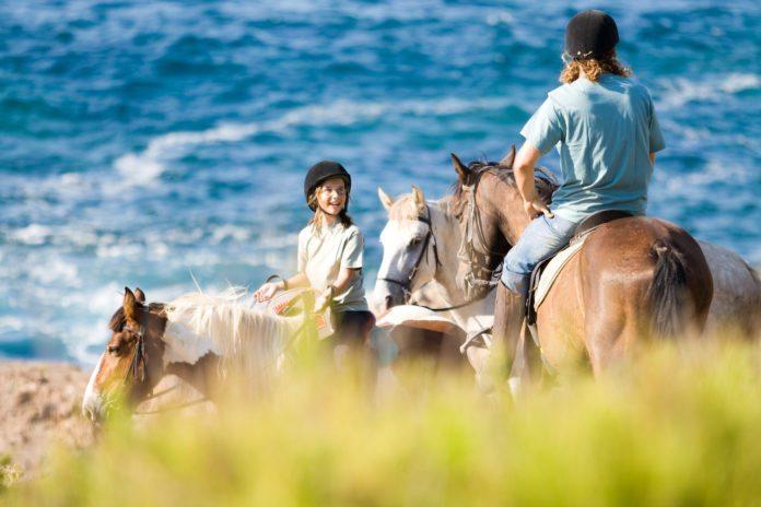 Reiten am Meer auf Menorca