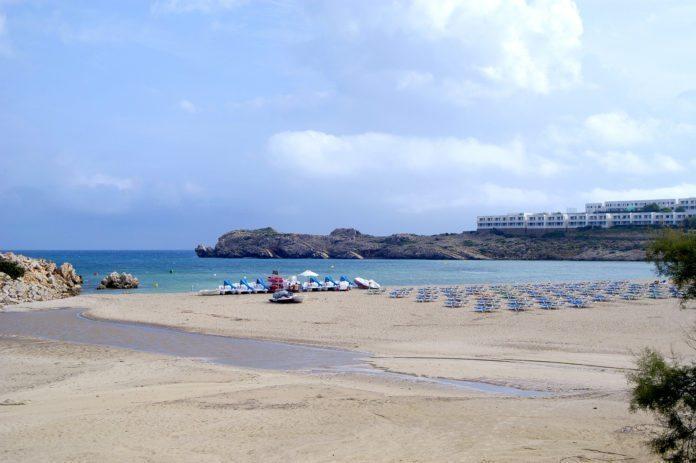 Strand in Son Parc, Menorca