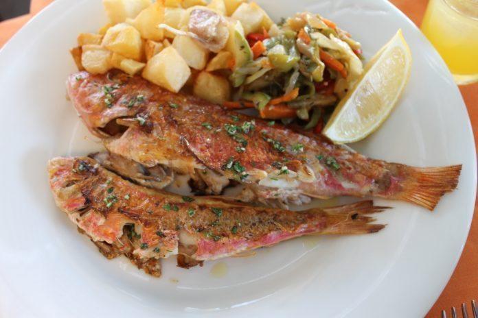 Typisch menorcisches Fischgericht, Menorca